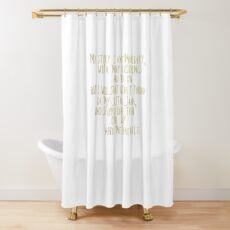 Orphan Black Finale Helena Quote Shower Curtain