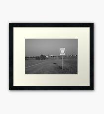 Route 66 - Oklahoma Framed Print