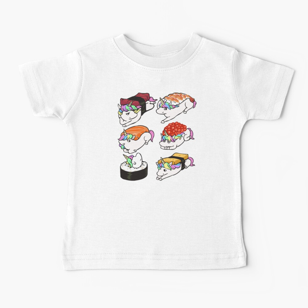 Sushi Unicorn Baby T-Shirt