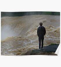 And the river roared.......! Poster