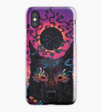 Black Eyed Dog iPhone Case