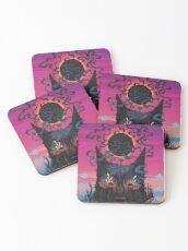 Black Eyed Dog Coasters