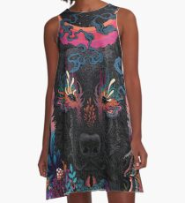 Black Eyed Dog A-Line Dress