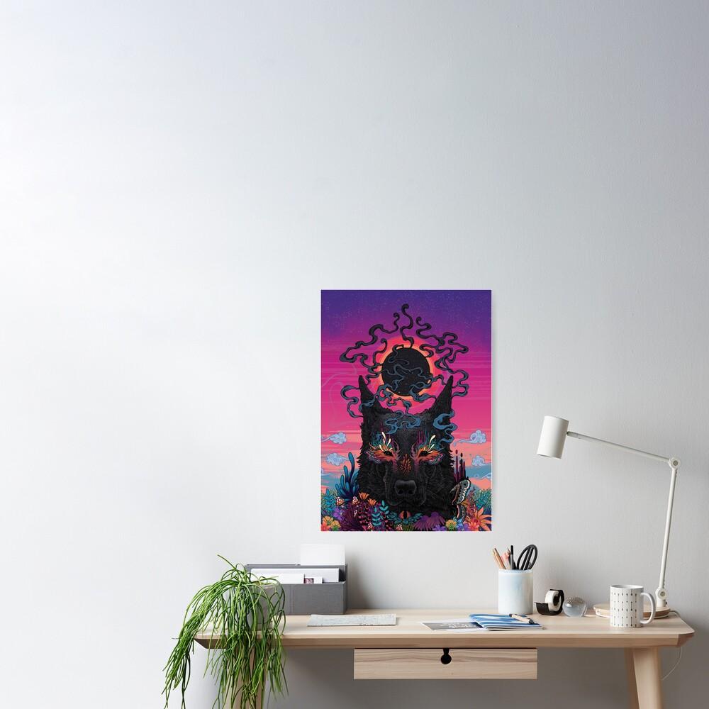 Black Eyed Dog Poster