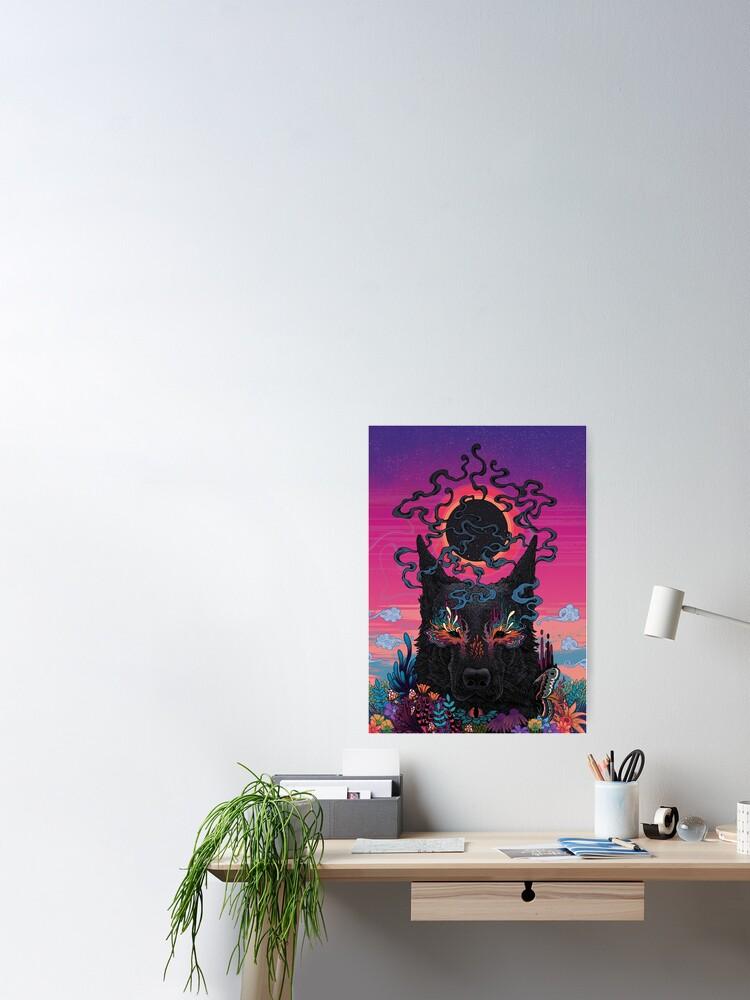 Alternate view of Black Eyed Dog Poster
