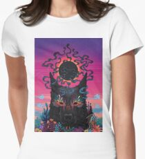 Black Eyed Dog Fitted T-Shirt
