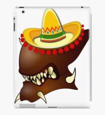 Mexican Alien Sombrero iPad Case/Skin