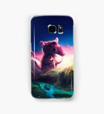 Knife Rat vs Wizard Bear Samsung Galaxy Case/Skin