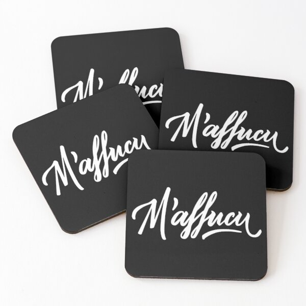 M'affucu Coasters (Set of 4)