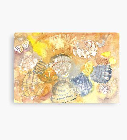 Sally Sells Sea Shells by the Seashore Canvas Print