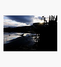 Abandoned Boat - Salen, Mull Photographic Print