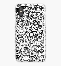 Shadowhunter Runes iPhone Case/Skin