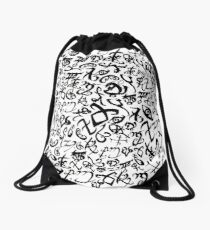 Shadowhunter Runes Drawstring Bag