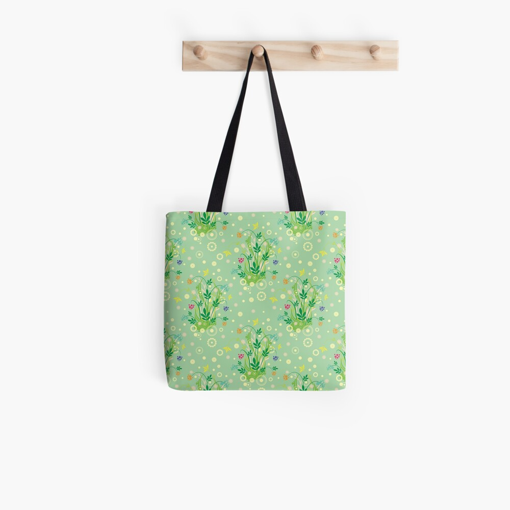 Decorative products with floral ornament. Tote Bag