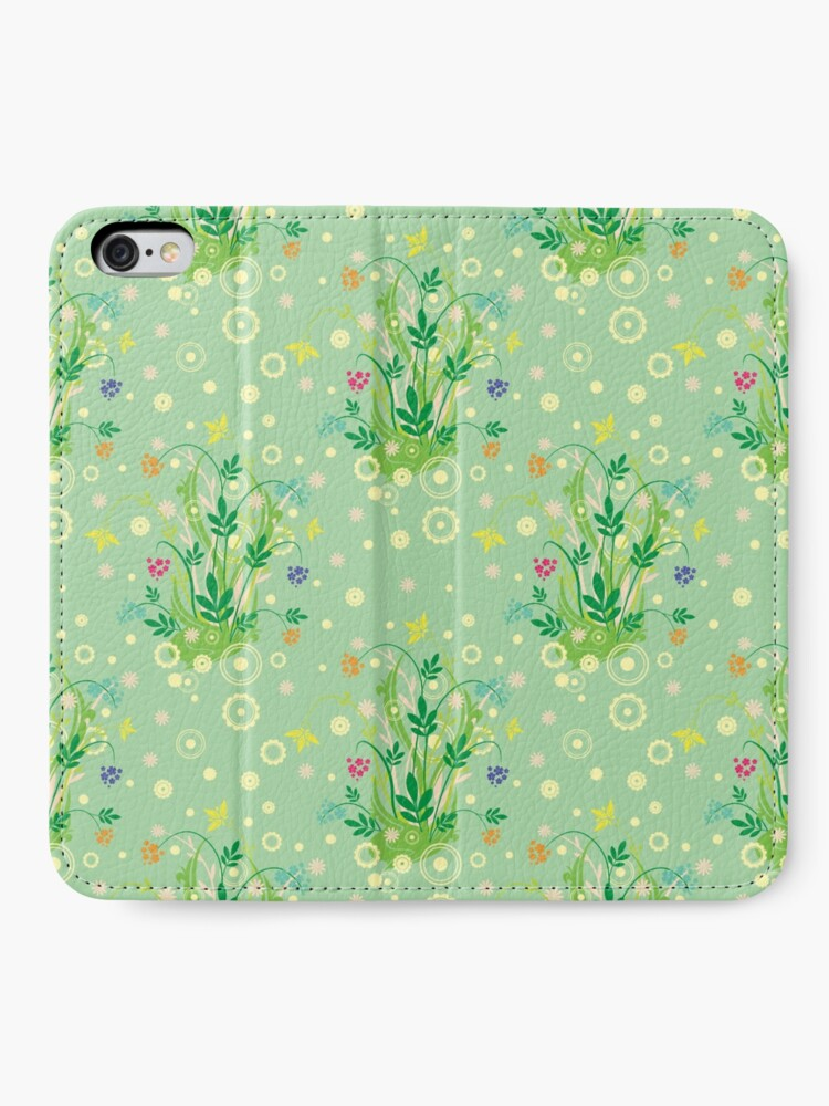 Alternate view of Decorative products with floral ornament. iPhone Wallet