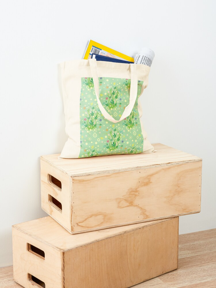 Alternate view of Decorative products with floral ornament. Tote Bag