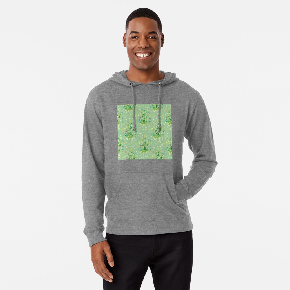 Decorative products with floral ornament. Lightweight Hoodie