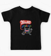 Trouble Maker olv  Kids Tee