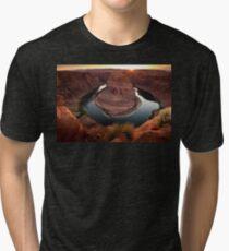 Horseshoe Bend Sunset Tri-blend T-Shirt