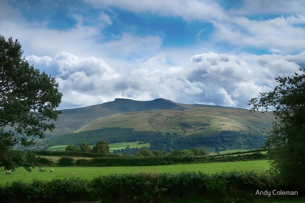 Pen Y Fan and Corn Du in Wales by Andy Coleman