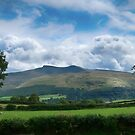 Pen Y Fan and Corn Du in Wales by Andy Coleman