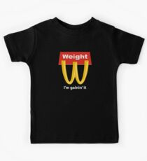 McDonalds Funny Weight I'm Gainin' It Kids Clothes