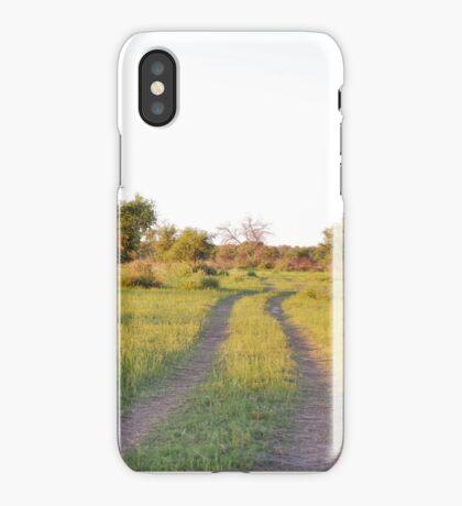 into the bush, madiwke, south africa iPhone Case/Skin