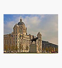 Port of Liverpool Building Photographic Print