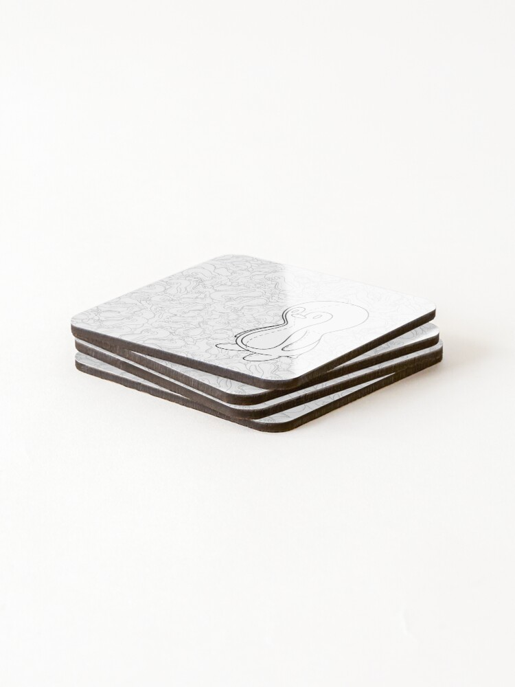 Alternate view of Penguin Doll Coasters (Set of 4)