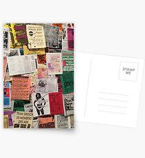 Riot Grrrl Fliers (1996) Postcards