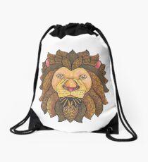 Tangled Lion Drawstring Bag