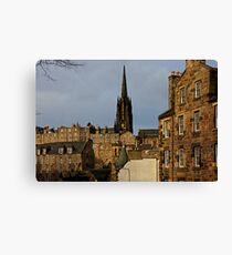 Tenements in the Cowgate Canvas Print