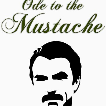 Ode to the Mustache by gregoryvg30de