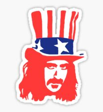 Frank Zappa Shirt Sticker