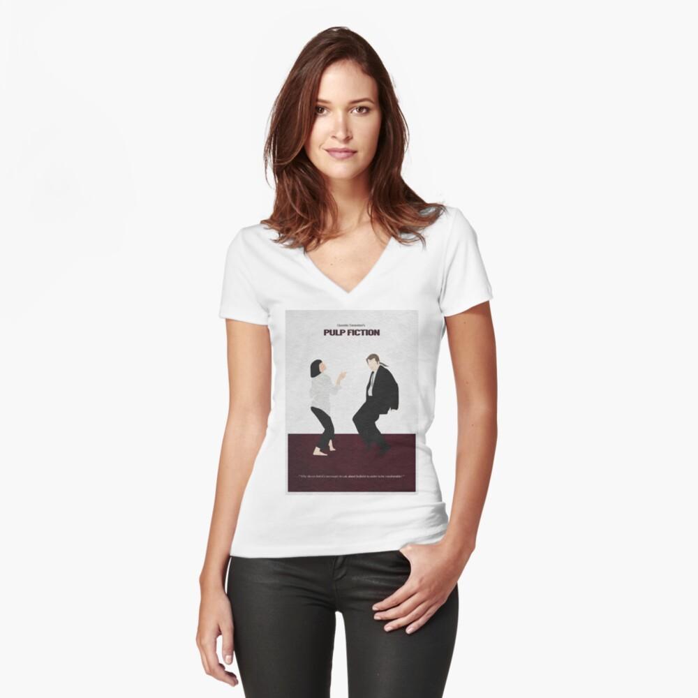 Pulp Fiction 2 Camiseta entallada de cuello en V