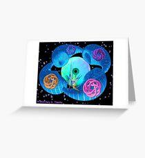 Dimensional Genesis - a fractal artwork Greeting Card