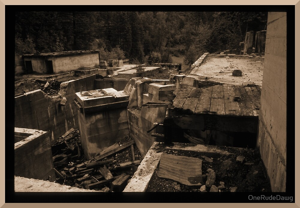 Old Abandoned Mine Site  by OneRudeDawg