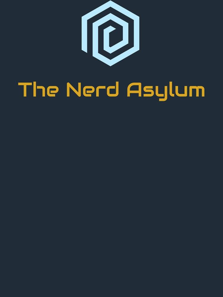 The Nerd Asylum Logo Shirt by TheNerdAsylum