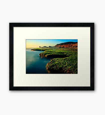 Low Tide at Sphinx Rock Framed Print