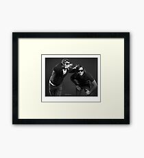 """""""Contemporary couples - Alex and Paul"""" Framed Print"""
