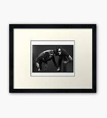 """""""Contemporary couples - Alex and Paul 2"""" Framed Print"""