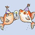 Birthday Fishes by zoel