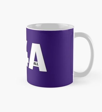 Copy of M4A (Medicare for All) White Acronym with Black Text and Outline Mug