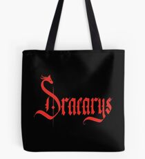 Dracarys - Red Tote Bag