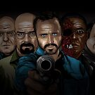 Breaking Bad line-up by denisosulli