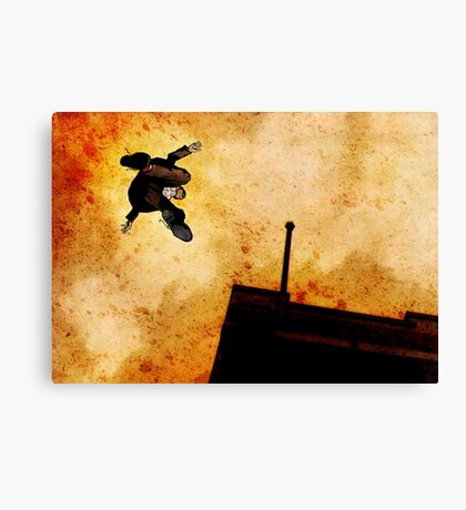 Brother Hazard Hunts In The City Canvas Print