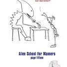 Teaching Aliens Manners Page Fifteen by Robert Phillips