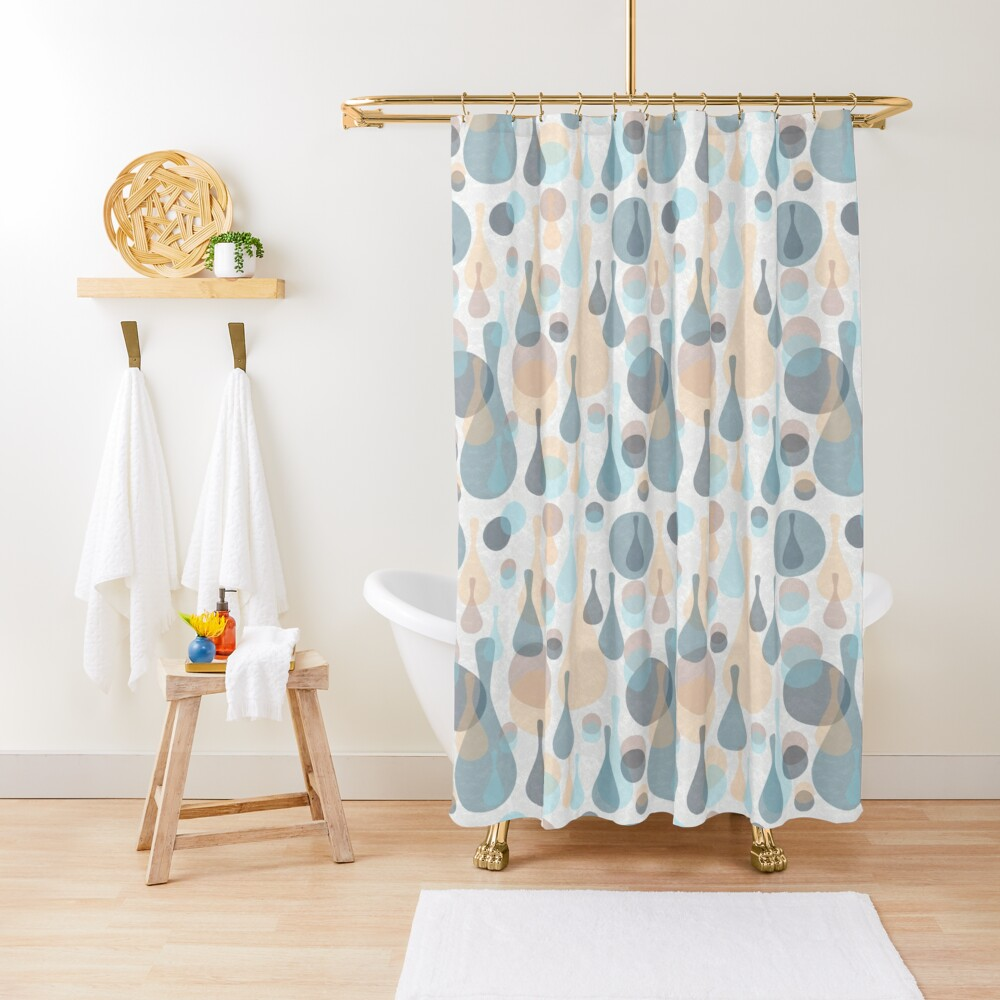 Spots and drops Shower Curtain