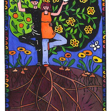 Tree People by TangerineMeg
