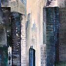 City by JillPerlaArt
